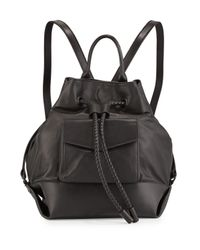 L.A.M.B. - Black Gracie Leather Backpack - Lyst