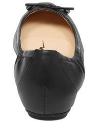 Jessica Simpson Black Melikah Ballet Flats