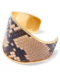 Marni - Multicolor Snakeskin Cuff - Lyst