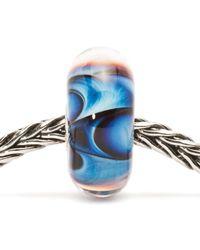 Trollbeads - Blue Wave Of Dreams Bead - Lyst