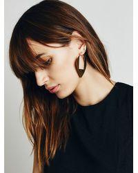 Free People - Metallic Seaworthy Womens Amante Earrings - Lyst