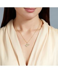 Alex Monroe | Metallic Needle And Thread Pendant | Lyst