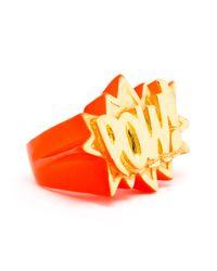 Ambush Red Pow Ring