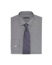 Ralph Lauren Black Label | Gray Tailored Sloan Cotton Shirt for Men | Lyst