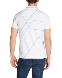 BOSS Green Blue 'paule' | Slim Fit, Stretch Cotton Polo Shirt for men