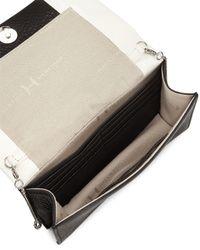 Halston - Black Wallet-on-chain Shoulder Bag - Lyst