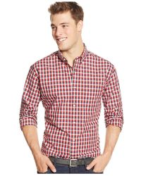 Tommy Hilfiger | Checkered-print Long-sleeve Shirt for Men | Lyst