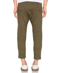 Stampd - Green Cropped Chino for Men - Lyst