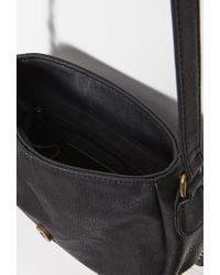 Forever 21 - Black Studded Faux Leather Crossbody - Lyst