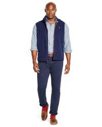 Polo Ralph Lauren Blue Cotton Canvas Flight Jacket for men