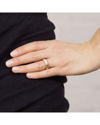 Maya Magal | Metallic Simple Pearl Ring Rose Gold | Lyst