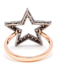 Rosa De La Cruz | Pink Diamond Star Ring | Lyst