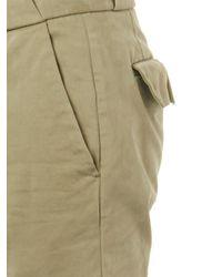 Michael Bastian Green Straight-Leg Chinos for men