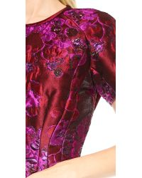 Nina Ricci Red Short Sleeve Top - Mure