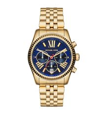 Michael Kors | Blue 38mm Lexington Bracelet Watch | Lyst