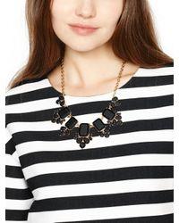 kate spade new york - Black Daylight Jewels Necklace - Lyst