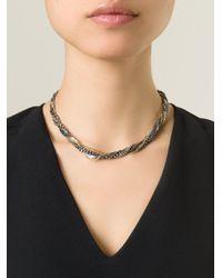 Puro Iosselliani   Black Tangled Necklace   Lyst