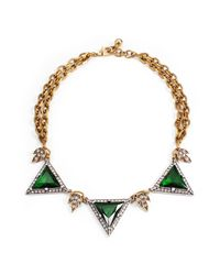 Lulu Frost | Green *new* Holiday Leaf Deco Necklace | Lyst