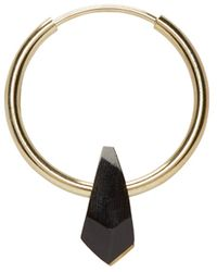 Isabel Marant | Metallic Pepito Hoop Earrings | Lyst