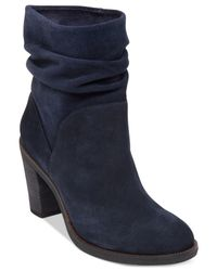 Vince Camuto | Blue Parka Booties | Lyst