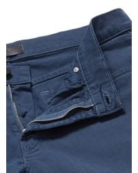 J Brand Blue 'tyler' Stretch Twill Chinos for men