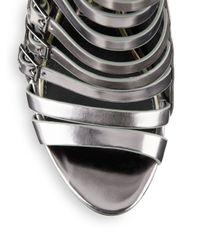 Boutique 9 Palaki Metallic Gladiator Sandals