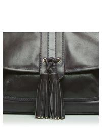 Moda In Pelle Blue Hudsonbag Casual Handbag