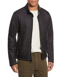 Relwen | Black 'vertical Insulator' Quilted Shell Jacket for Men | Lyst