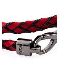 Tod's   Red 'My Colours' Bracelet   Lyst