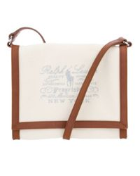 Ralph Lauren Blue Label Natural Logo Bag