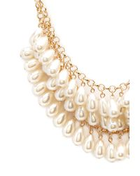 Forever 21 | Metallic Femme Faux Pearl Necklace | Lyst