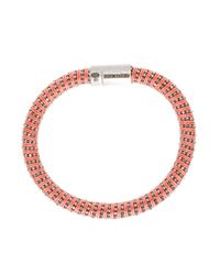 Carolina Bucci | Orange Twister Bracelet | Lyst