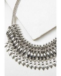 Forever 21 - Metallic Teardrop Statement Necklace - Lyst
