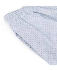 Sunspel - Blue Women's Long-staple Cotton Sleep Pant - Lyst