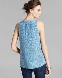 Joie - Blue Top Fifi Silk - Lyst
