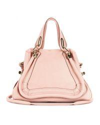 Chloé - Pink Paraty Medium Leather Shoulder Bag - Lyst