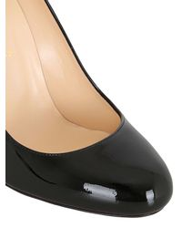 Christian Louboutin Black Fifi Patent Leather Pumps