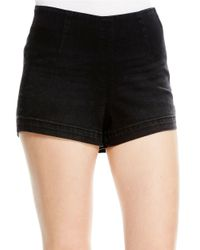 Jessica Simpson | Black High-Waist Shorts | Lyst