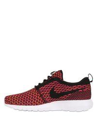 Nike | Gray Rosherun Flyknit Sneakers | Lyst