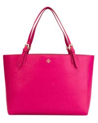 Tory Burch | Pink Large Tote | Lyst