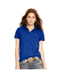 Polo Ralph Lauren | Blue Classic-fit Polo Shirt | Lyst