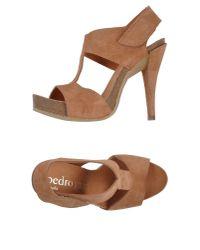 Pedro Garcia - Natural Sandals - Lyst