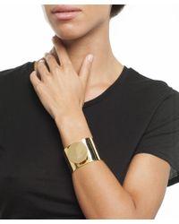 Arme De L'Amour   Metallic Circle Plate Bracelet   Lyst