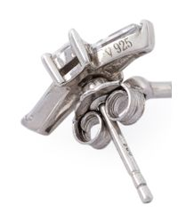 V Jewellery - Metallic Marnie Lobe Earrings - Lyst