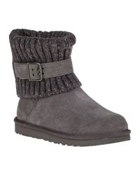 UGG | Gray Cambridge Ankle Boot Grey Suede | Lyst