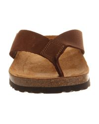 Office Brown Thong Sandals for men