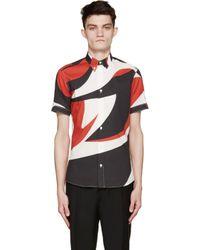 Alexander McQueen - White Printed Shirt for Men - Lyst