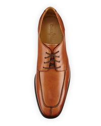 Cole Haan - Brown Adams Leather Split Oxford Lace-up for Men - Lyst