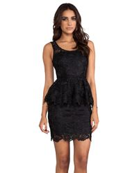 Blaque Label - Lace Dress in Black - Lyst