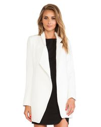 Nicholas - White Felted Wool Coat - Lyst